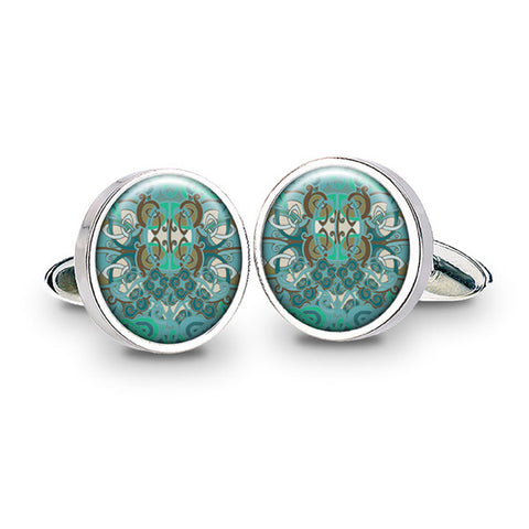 Celtic Phoenix Cuff Links