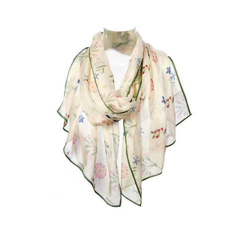 Shakespeare Love Chiffon Scarf