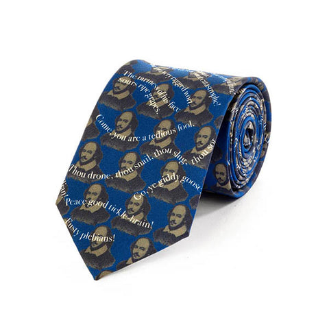 Shakespeare Insults II Silk Tie