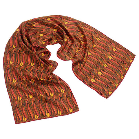 Mackintosh Tulips Crêpe de Chine Scarf