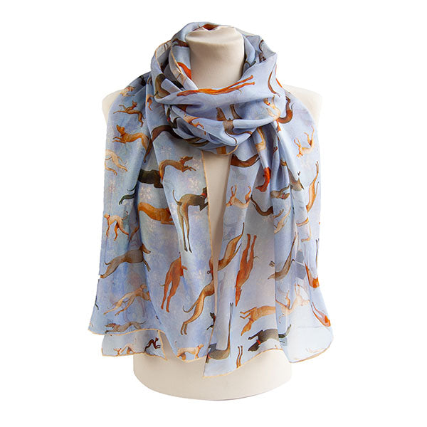 Hunt of the Forest Chiffon Scarf