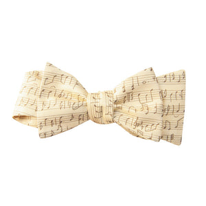 Music Sheet Bow Tie