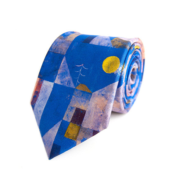 Paul Klee Moonshine Silk Tie