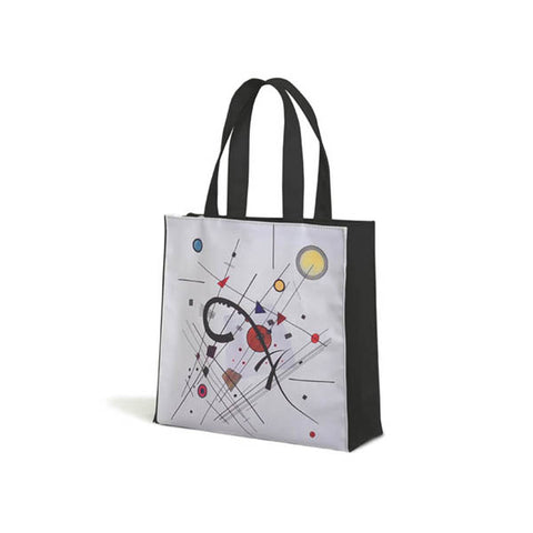 Kandinsky Grey Tote Bag