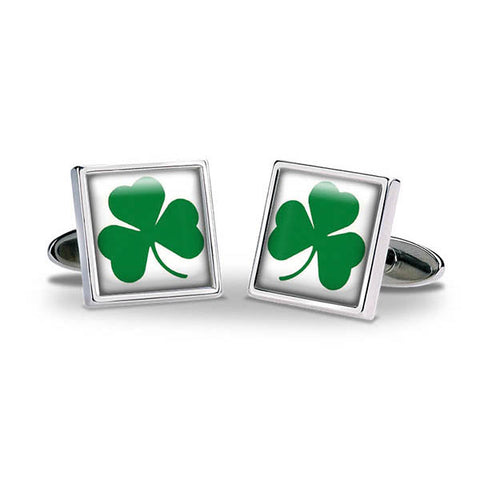 Shamrock Cuff Links