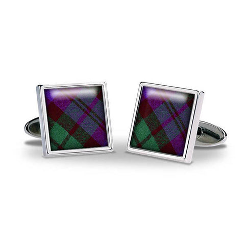 Tartan Black Watch Cuff Links