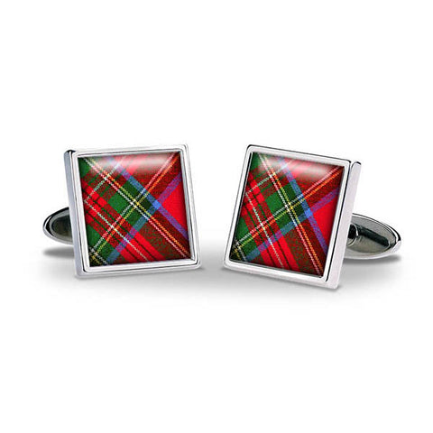 Tartan Royal Stewart Cuff Links