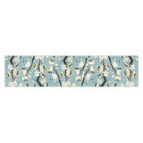 Bees and Blossom Habotai Scarf Flat Artwork