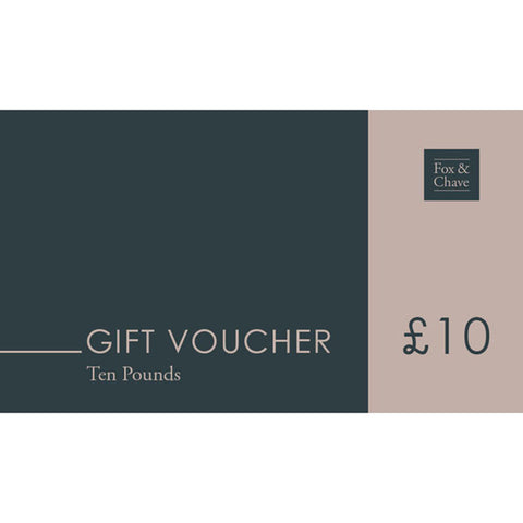 £10 Fox & Chave Gift Vouchers