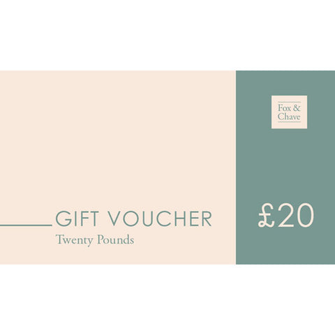 £20 Fox & Chave Gift Vouchers