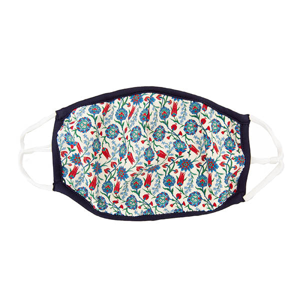 Iznik Flowers Face Mask