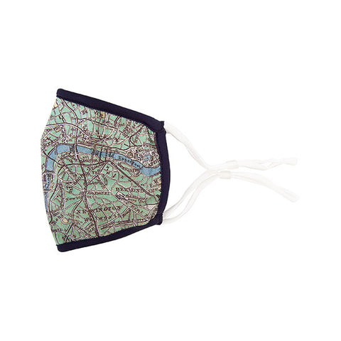 London Map Face Mask