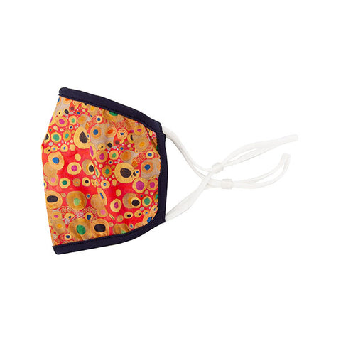 Klimt Red Face Mask