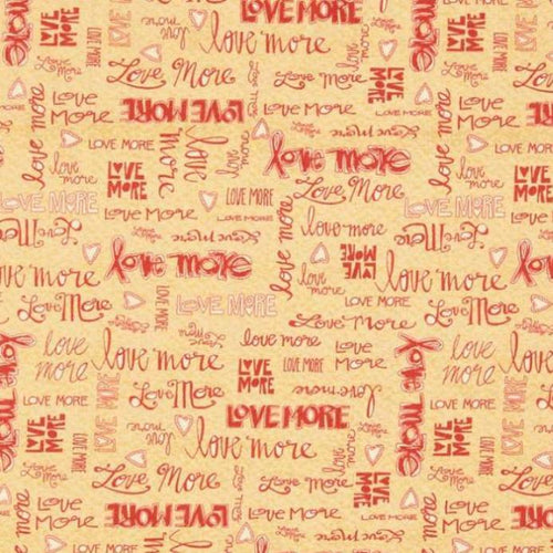 Love More - Text
