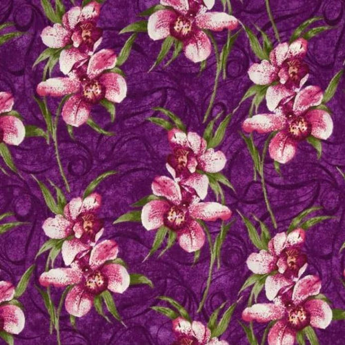 Orchid Shadows - Floral Spray