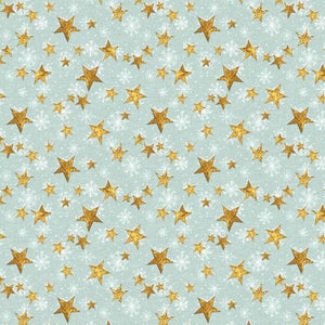 Friendly Gathering - Stars Teal