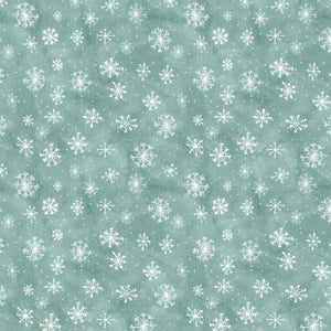 Friendly Gathering - Snowflake Teal