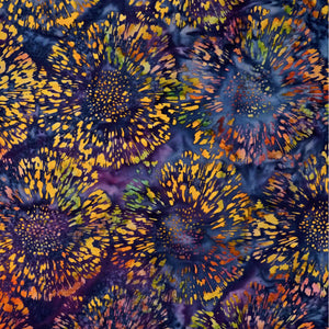 Batik by Mirah - Violet Fugue