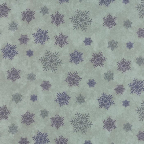 Winter Forest Flannel - Snowflakes