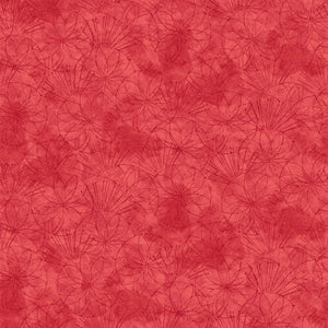 Serendipity - Traced Flower (Red)