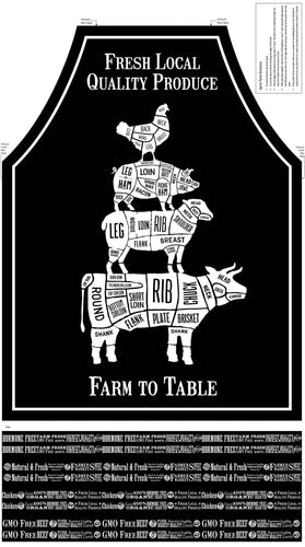Farm to Table - Apron Panel