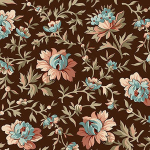 Bethel - Packed Floral (Brown)