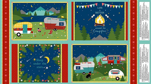 Gone Glamping! - Placemat Panel
