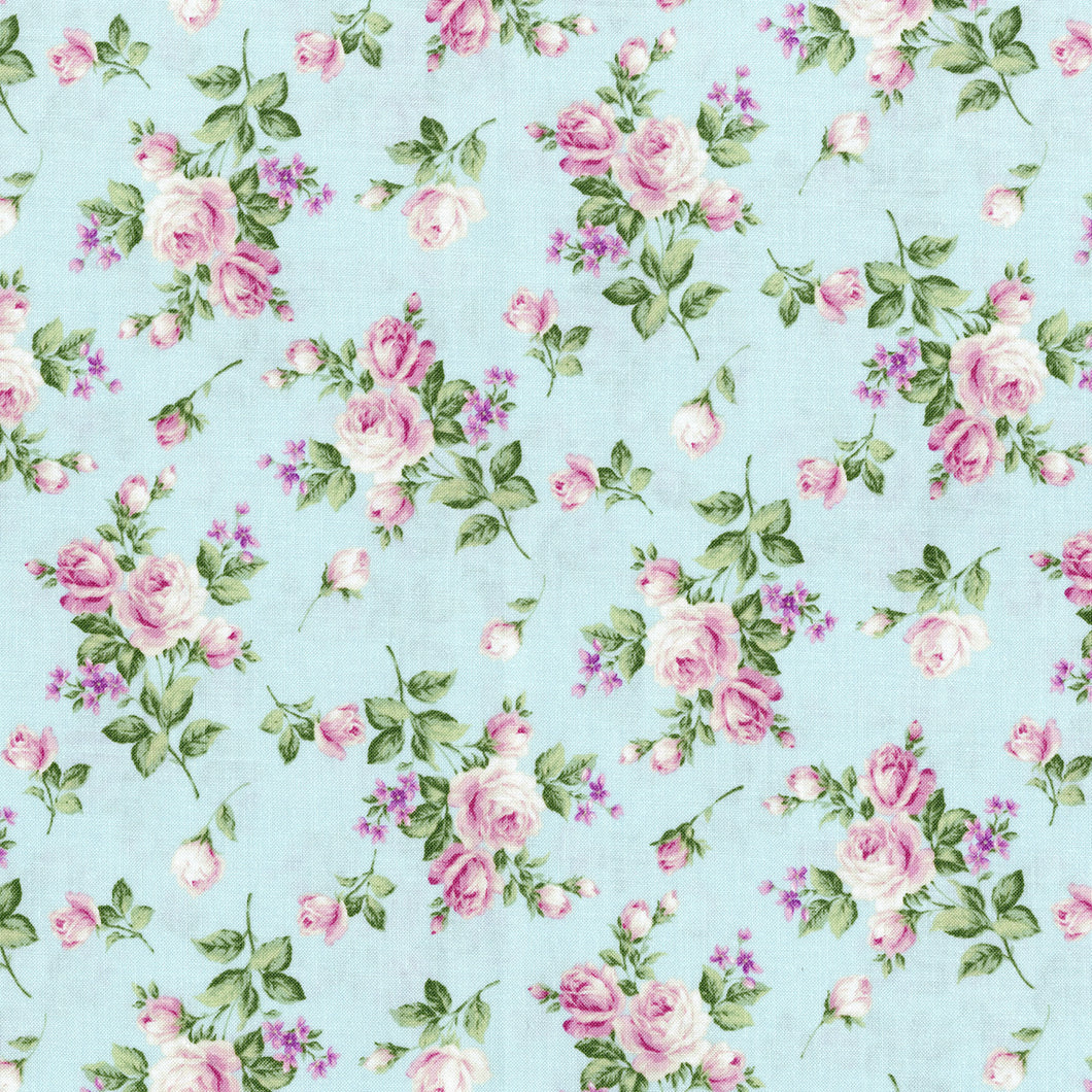 Afternoon in the Attic Flannel - Heirloom Floral