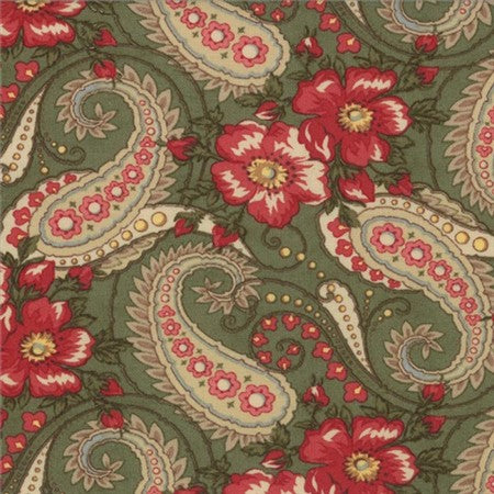Wintergreen - Paisley Floral