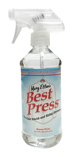 Best Press - Clear Starch Alternative
