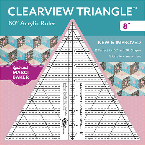 Clearview Triangle - 60 Degree Ruler