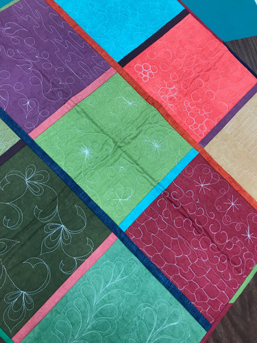 WAITLIST Introduction to Free Motion Quilting - Quilt as You Go
