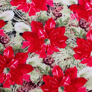 Woodland Holiday - Packed Poinsettias