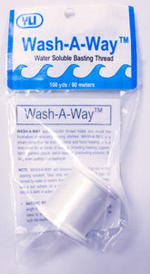 Wash Away Water Soluble Basting Thread