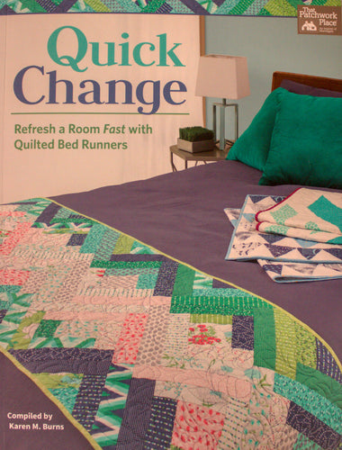 Quick Change: Refreshing a Room Fast with Quilted Bed Runners