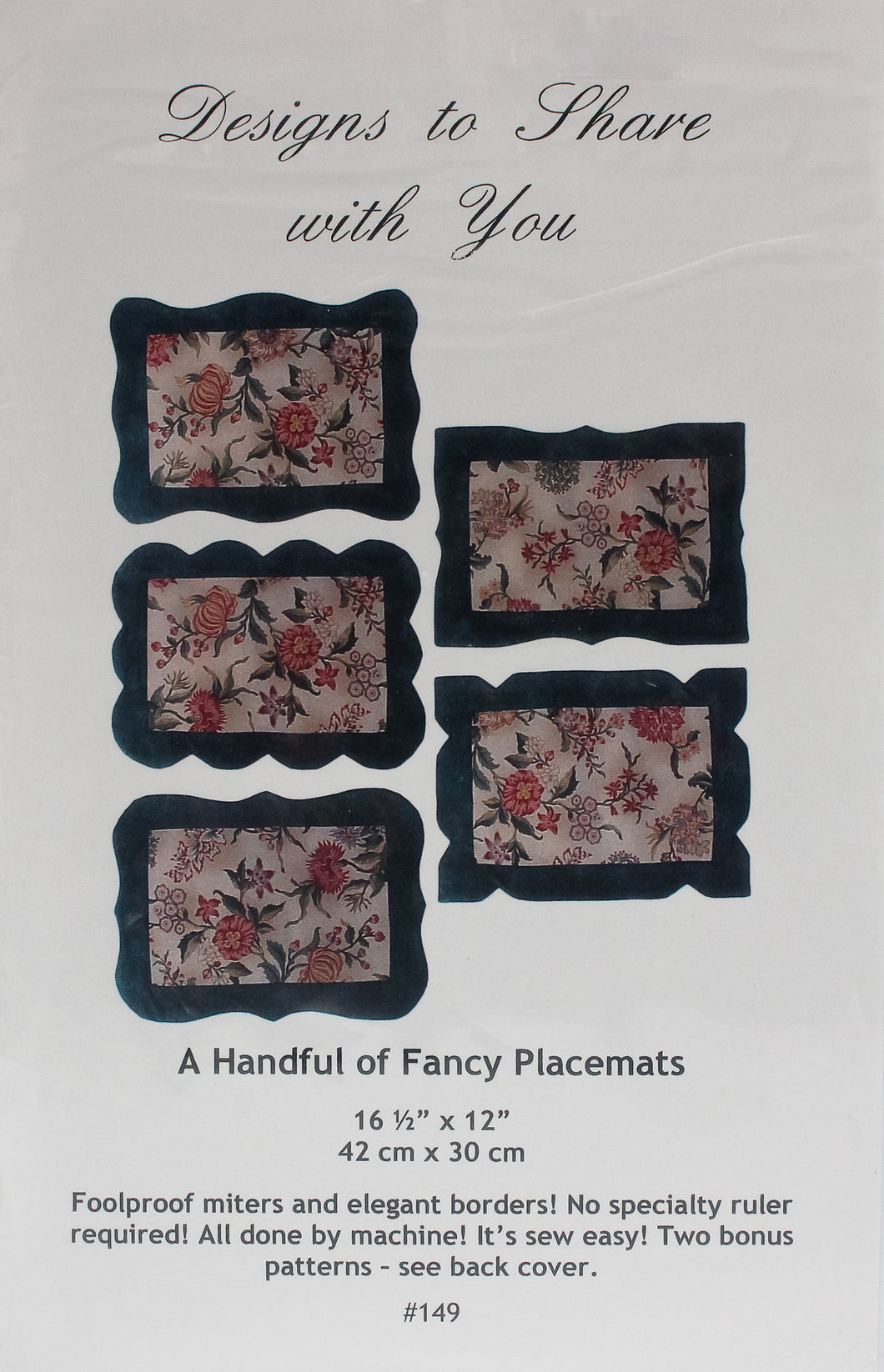 A Handful of Fancy Placemats