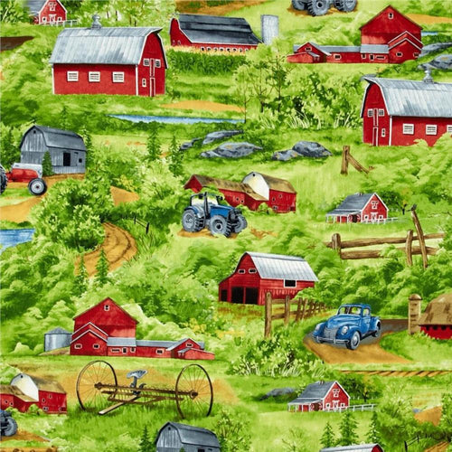 Green Mountain Farm - Farm Scene