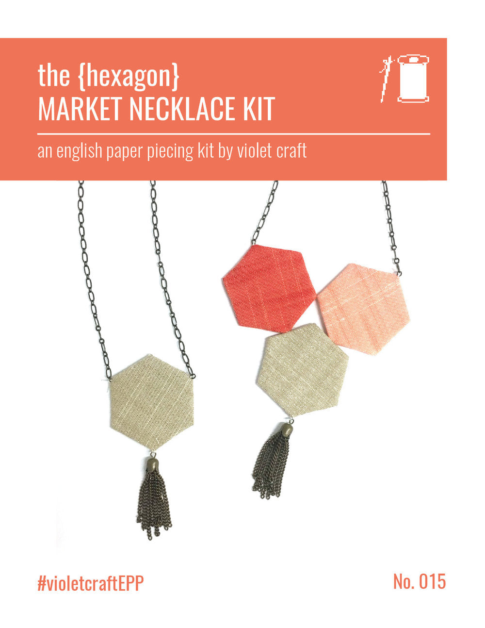 The (Hexagon) Market Necklace