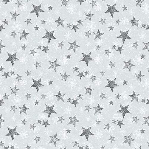 Friendly Gathering - Stars Light Grey