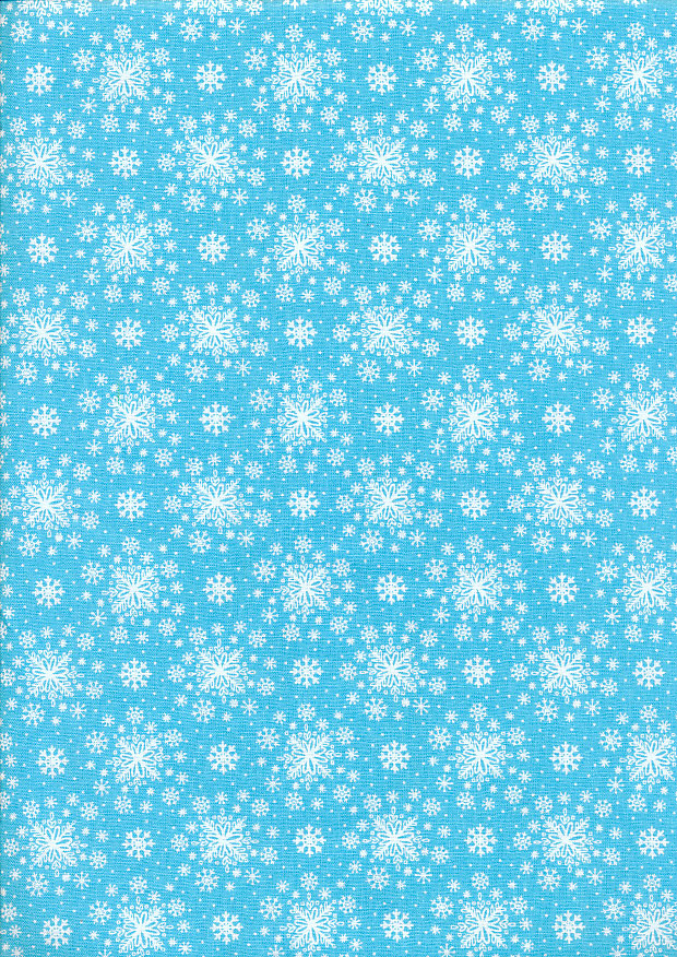 Enchanted Snowflake - Teal