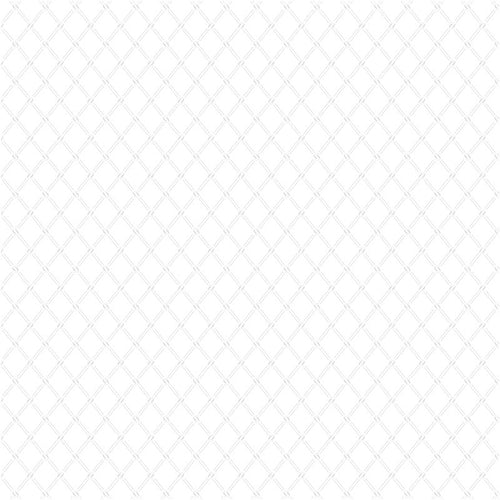 Bare Essentials - White Trellis on White
