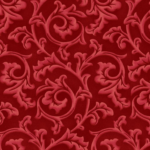Songbird Christmas - Scroll (Red)