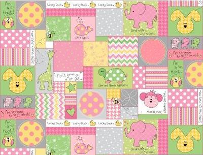 Little One Flannel - Patchwork
