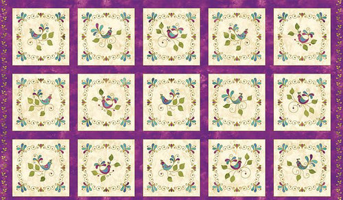 Songbird Pansy - Panel