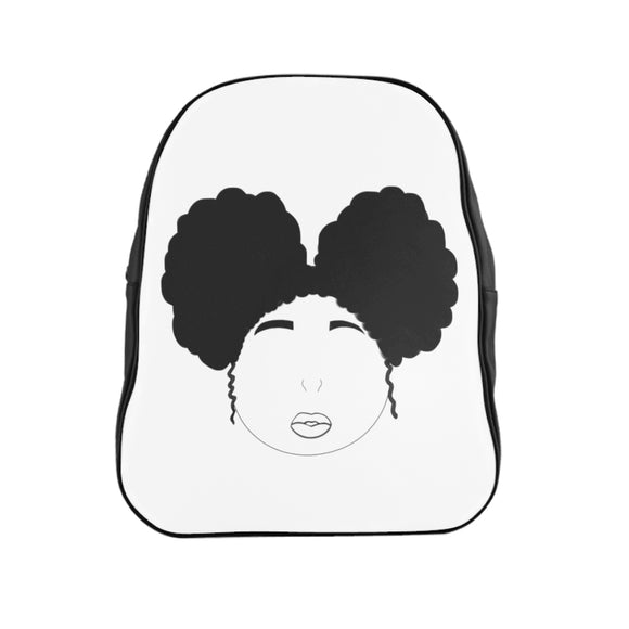 Afro girl School Backpack