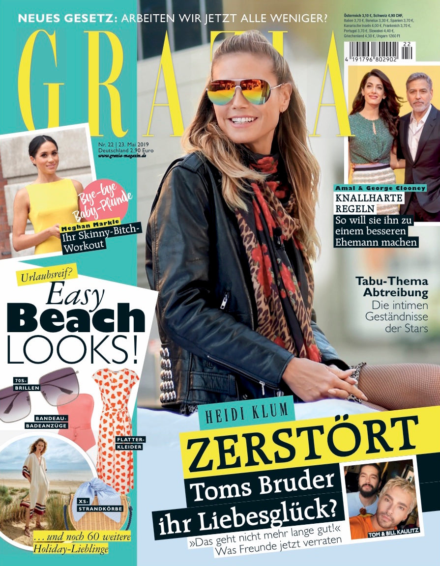 grazia magazine germany cover july 2019