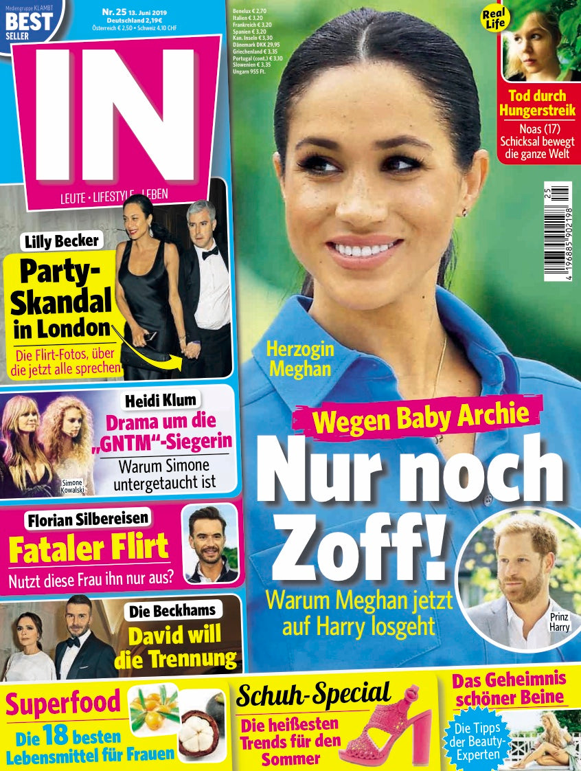In Magazine Germany June 2019 cover