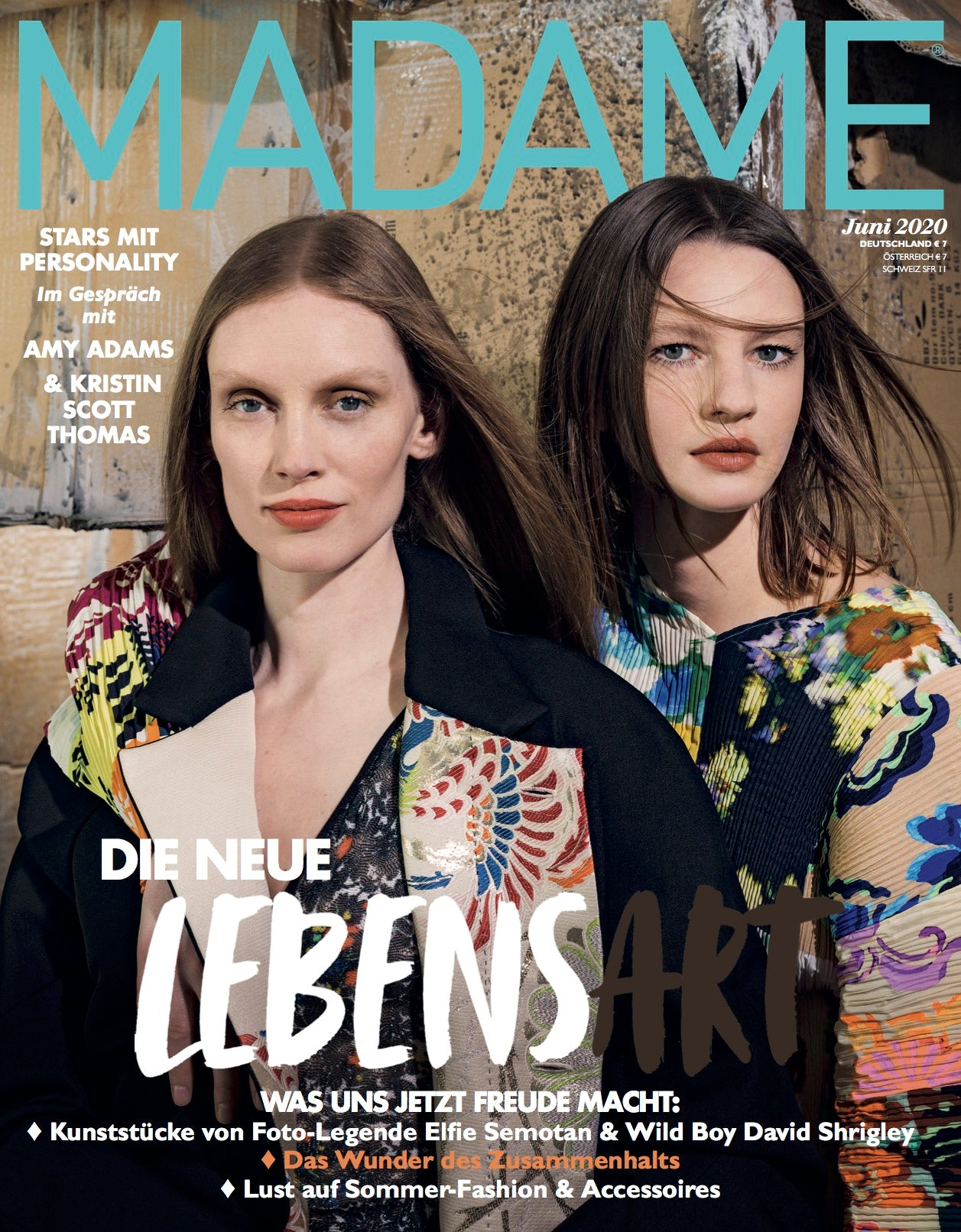 madame magazin cover juni 2020