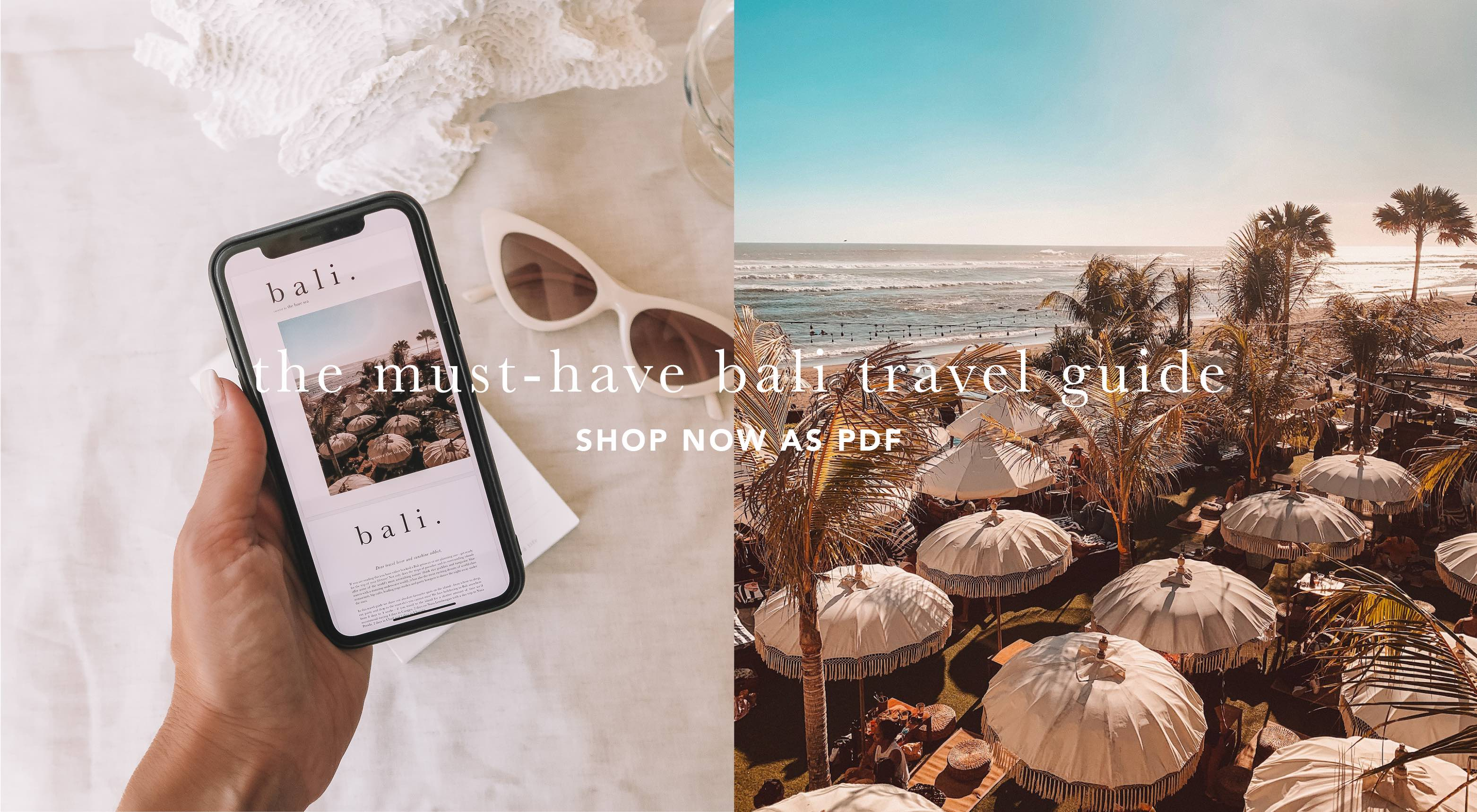 the bare sea bali travel guide