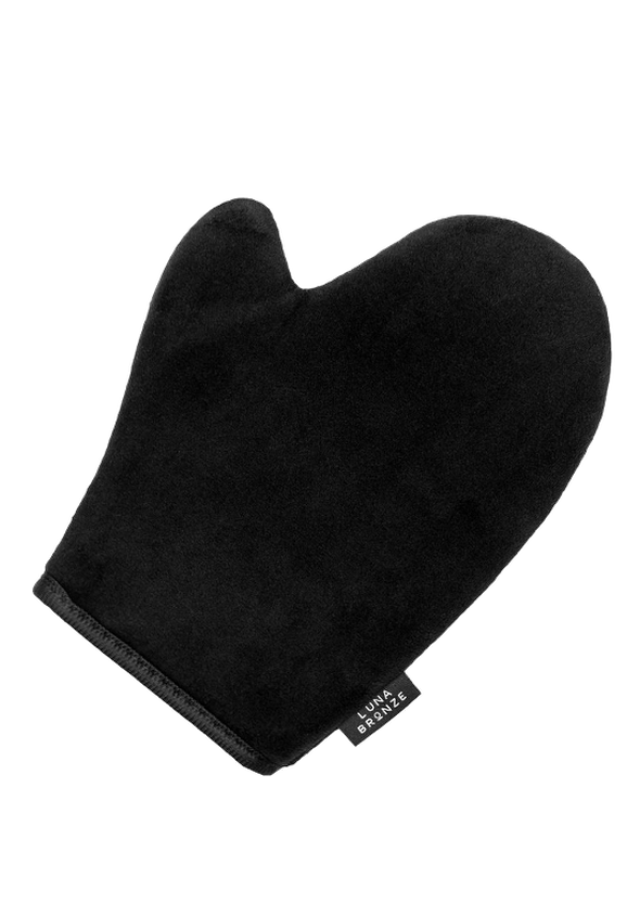 luna bronze tanning mitt the bare sea